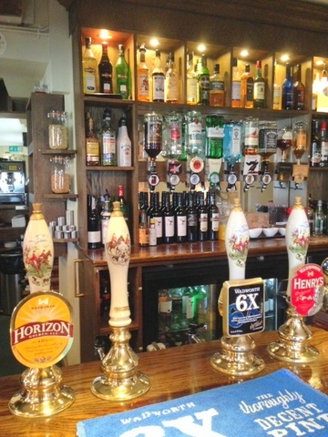 Real Ales on tap